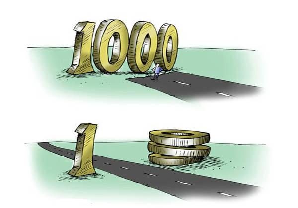 همتی:دو سال دیگر هر هزار تومان، یک تومان میشود