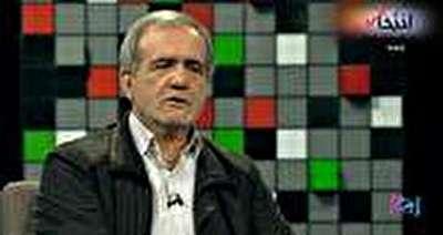 ویدئو / سخنان عجیب پزشکیان: داماد روحانی هر جا برود با کله ق ...