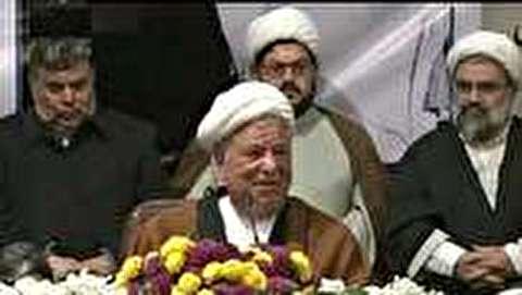 ویدئو / آخرین سخنرانی مرحوم آیت الله هاشمی رفسنجانی - ۱۰ دی  ...
