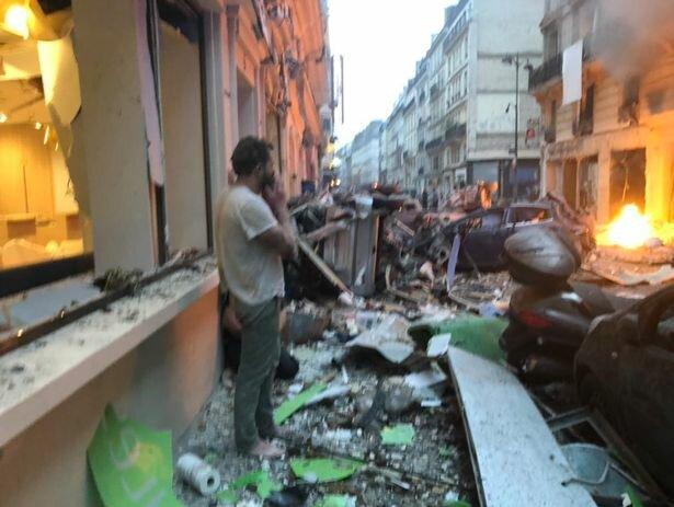 وقوع انفجاری مهیب در مرکز پاریس