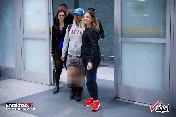 عکس/ استقبال از دختر پناهجوی عربستانی در کانادا