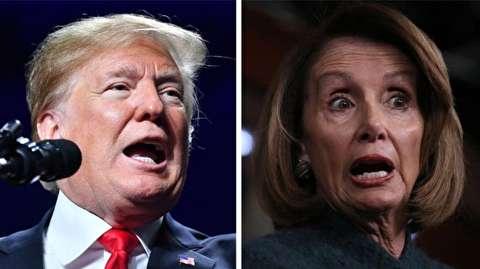 نامه رییس دموکرات محلس نمایندگان آمریکا به ترامپ: برای سخنرانی سالانه به کنگره نیا؛ از کاخ سفید سخنرانی کن