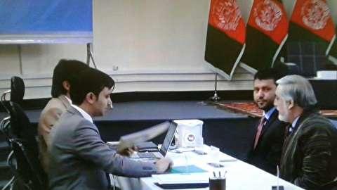 عبدالله عبدالله در انتخابات ریاست جمهوری افغانستان ثبتنام کرد
