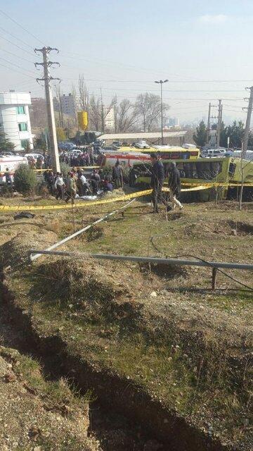 ۷کشته و ۲۸ مجروح در واژگونی اتوبوس حامل دانشجویان در دانشگاه علوم و تحقیقات