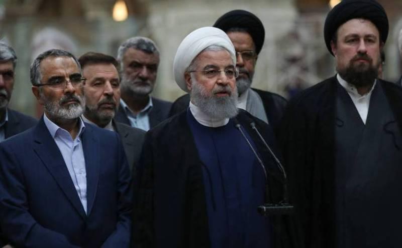 Image result for سخنان رییس جمهوری در مرقد مطهر امام خمینی(ره)