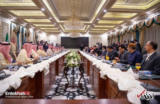 تصاویر : فرش قرمز عمران خان برای بن سلمان