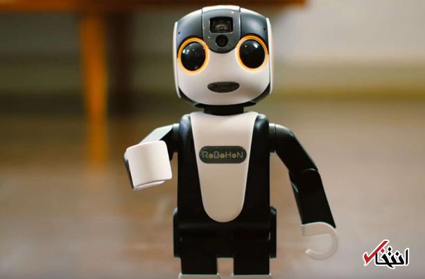 جدیدترین روبات شارپ رونمایی شد+تصاویر