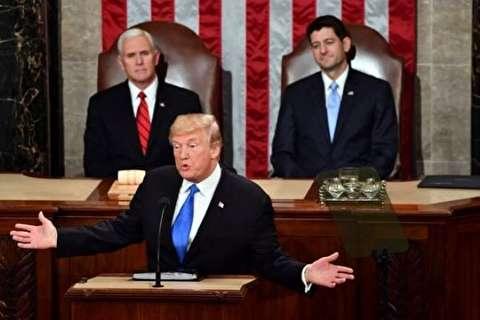 رویترز: دعوای کاخ سفید و کنگره ادامه دارد/ پافشاری ترامپ بر ایراد سخنرانی سالانه ریاست جمهوری