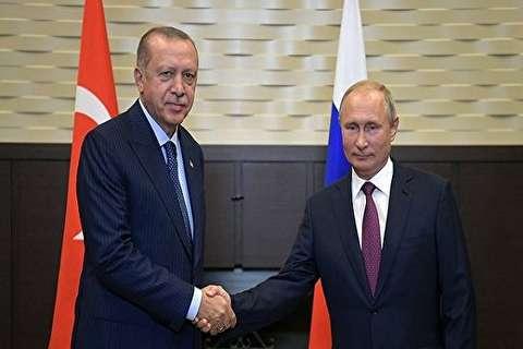 اردوغان: نشست سه جانبه ایران، روسیه و ترکیه مورد توجه جهانیان قرار گرفت