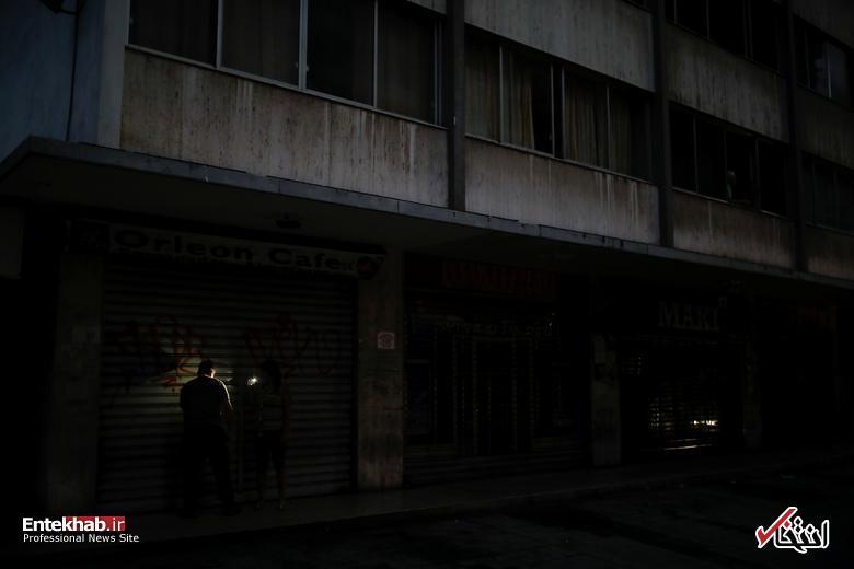 تصاویر: قطعی برق بیسابقه در ونزوئلا - 5