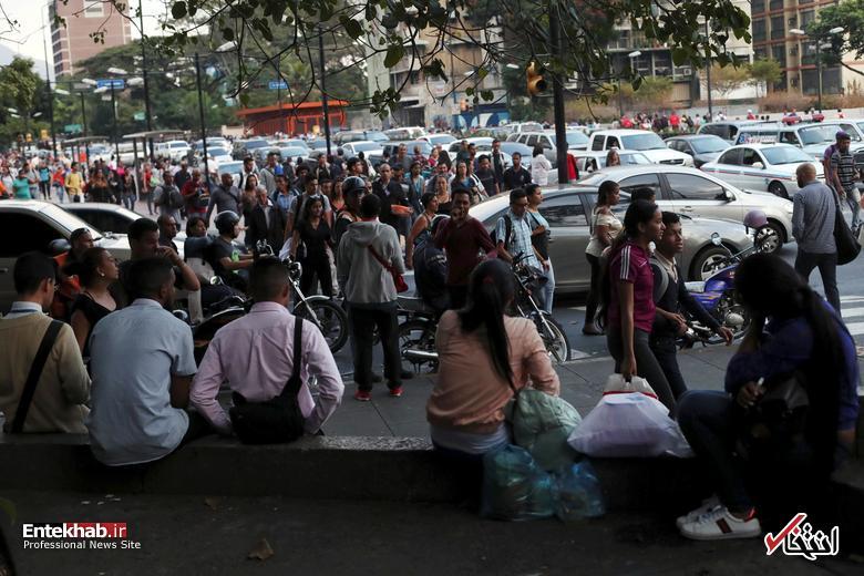 تصاویر: قطعی برق بیسابقه در ونزوئلا - 15