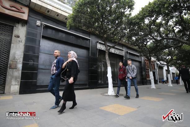 تصاویر: اعتصاب سراسری در الجزایر - 4