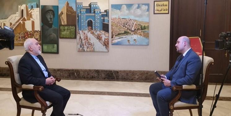 ظریف: آمریکا نمی تواند روابط ایران و عراق را متوقف کند / آماده همکاری با عربستان هستیم