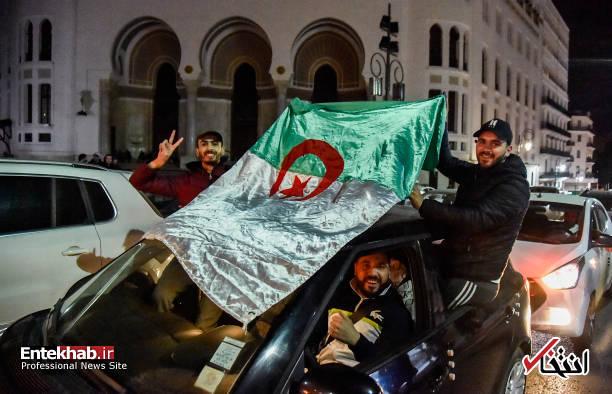 تصاویر: جشن و شادمانی الجزایریها از انصراف بوتفلیقه - 0