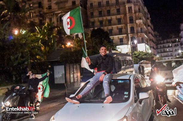 تصاویر: جشن و شادمانی الجزایریها از انصراف بوتفلیقه - 1