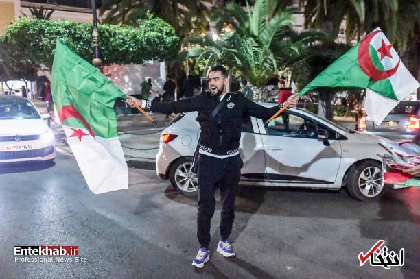 تصاویر: جشن و شادمانی الجزایریها از انصراف بوتفلیقه - 2