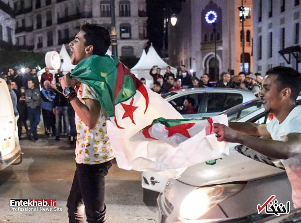تصاویر: جشن و شادمانی الجزایریها از انصراف بوتفلیقه - 5