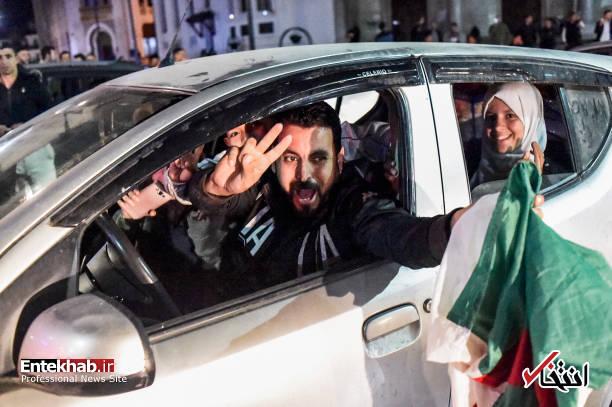 تصاویر: جشن و شادمانی الجزایریها از انصراف بوتفلیقه - 6