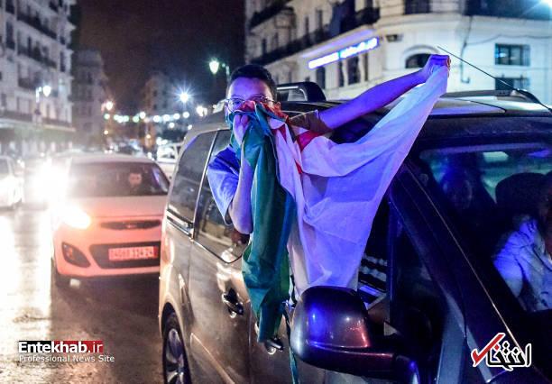 تصاویر: جشن و شادمانی الجزایریها از انصراف بوتفلیقه - 7