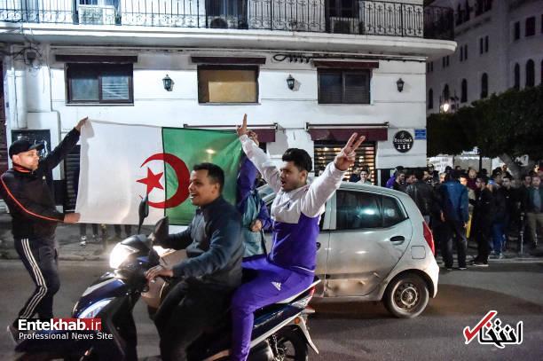 تصاویر: جشن و شادمانی الجزایریها از انصراف بوتفلیقه - 8