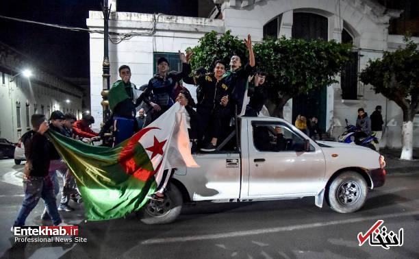 تصاویر: جشن و شادمانی الجزایریها از انصراف بوتفلیقه - 9