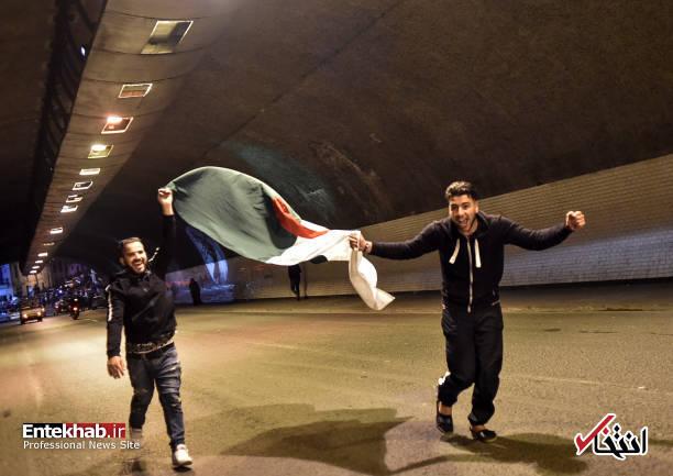 تصاویر: جشن و شادمانی الجزایریها از انصراف بوتفلیقه - 10