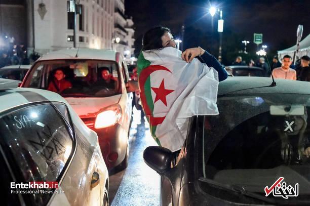 تصاویر: جشن و شادمانی الجزایریها از انصراف بوتفلیقه - 11