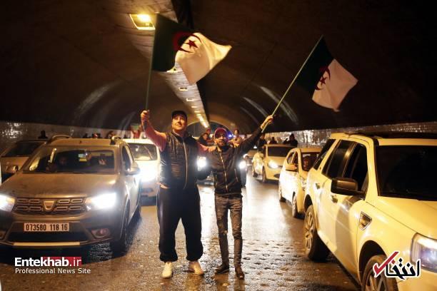 تصاویر: جشن و شادمانی الجزایریها از انصراف بوتفلیقه - 12