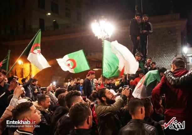تصاویر: جشن و شادمانی الجزایریها از انصراف بوتفلیقه - 13