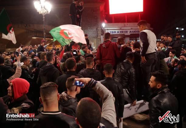 تصاویر: جشن و شادمانی الجزایریها از انصراف بوتفلیقه - 15