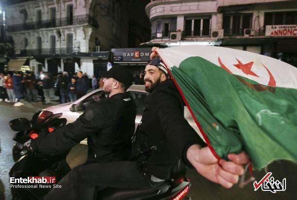 تصاویر: جشن و شادمانی الجزایریها از انصراف بوتفلیقه - 16