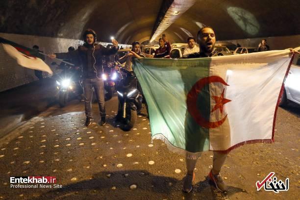 تصاویر: جشن و شادمانی الجزایریها از انصراف بوتفلیقه - 17