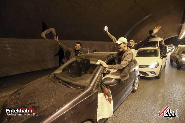 تصاویر: جشن و شادمانی الجزایریها از انصراف بوتفلیقه - 18