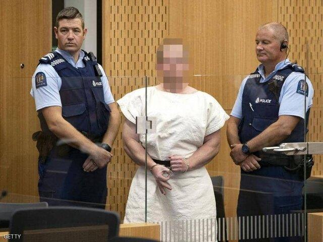 عامل حمله به دو مسجد نیوزیلند تفهیم اتهام شد
