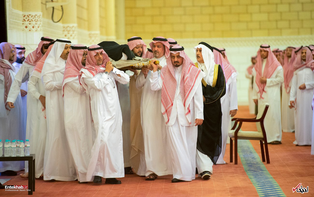 عکس/ تشییع پیکر شاهزاده خانم عربستانی - 1