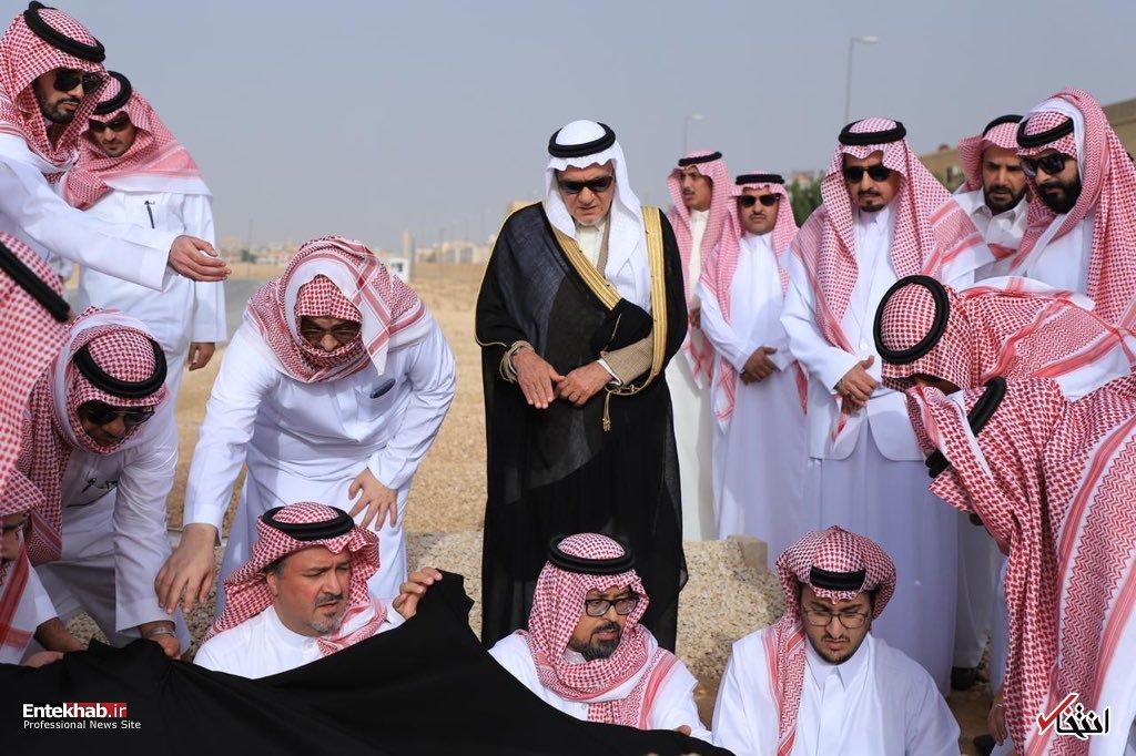عکس/ تشییع پیکر شاهزاده خانم عربستانی - 7