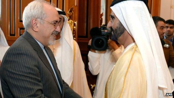 الجزیرهغزلسرایی امارات برای ایران...با غفلت از عربستان
