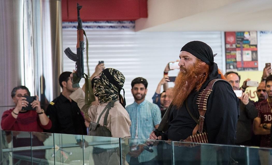 Image result for نمایش عوامر شام داعشی در پاسا