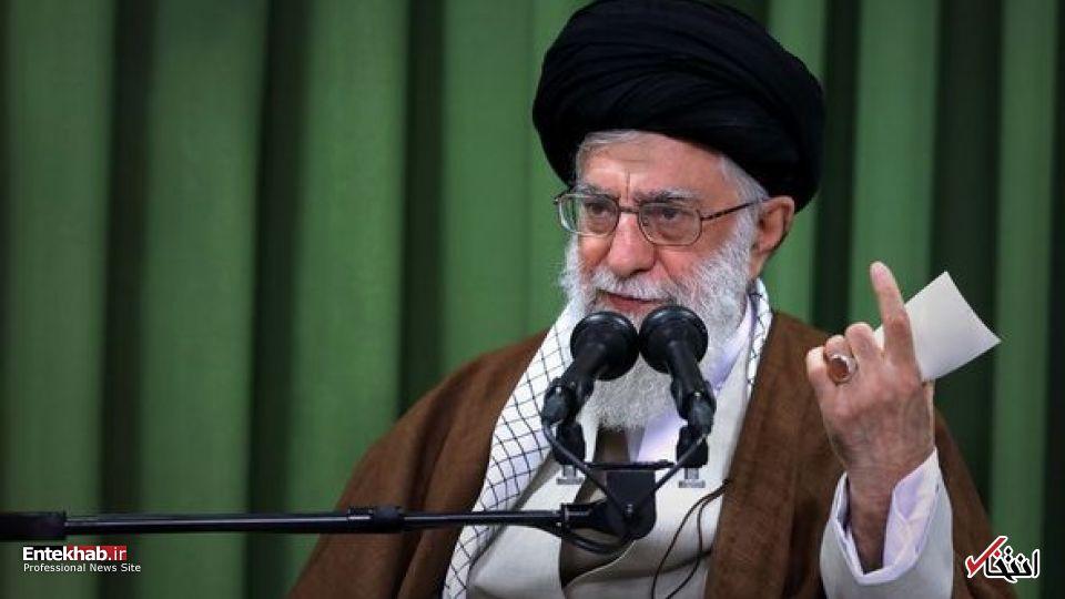بیش از ۱۰ دروغ در حرفهای رییس جمهور آمریکا بود؛ می گفت چنین و چنان میکنم؛ بنده از طرف ملت ایران میگویم: شما غلط میکنید / منتظر روزی باشید که ترامپ مُرده، جسدش خوراک «مار و مور» شده اما نظام جمهوری اسلامی مقتدر است