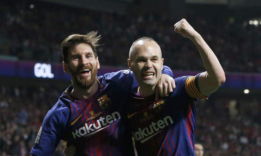 بارسلونا برای سی امین بار قهرمان جام حذفی اسپانیا شد