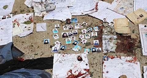 انفجار انتحاری در مرکز ثبتنام رایدهندگان در کابل / ۱۲ نفر کشته و ۵۷ تن زخمی شدند
