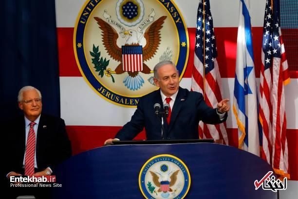 تصاویر : افتتاح رسمی سفارت آمریکا در قدس