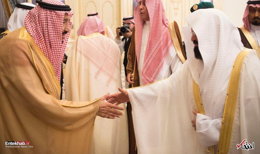 تصاویر : غیبت بن سلمان در نشست شورای وزیران عربستان