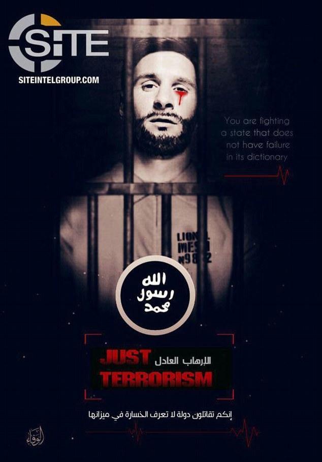 تهدید دوباره داعش: مسی و رونالدو را در مسکو می کشیم! +تصاویر