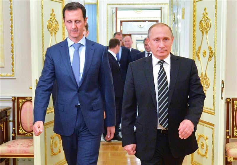 پوتین در دیدار با اسد: خارج شدن نیروهای خارجی از سوریه به زودی آغاز میشود