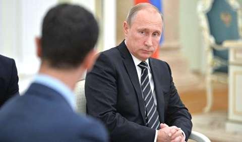 سه پیشنهاد غرب به پوتین برای عدم حمایت از اسد: ابقای پایگاههای نظامی روسیه، کمک مالی برای بازسازی سوریه و تضمین نفوذ جهانی مسکو