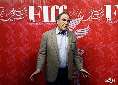 الیور استون در جشنواره جهانی فیلم فجر : مامور امنیتی آمریکا نیستم/ «اسکندر» را زمان بدی ساختم