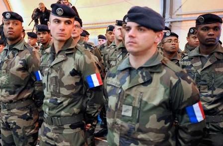 تقویت حضور نظامی فرانسه در شمال و شرق سوریه