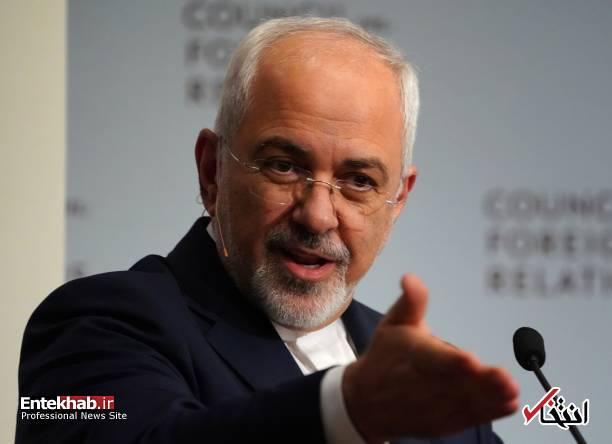عکس/ ظریف در شورای روابط خارجی آمریکا