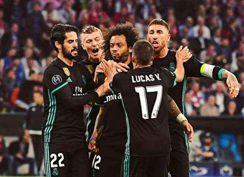 رئال مادرید در لیگ قهرمانان رقیب ندارد/ شکست بایرن مونیخ در آلیانز آره نا